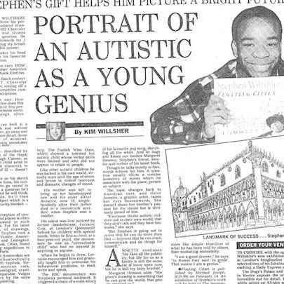 Portrait of an autistic as a young genius - Media archive