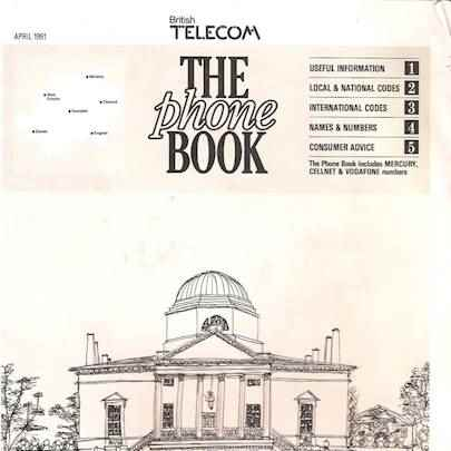 The phone book - Media archive