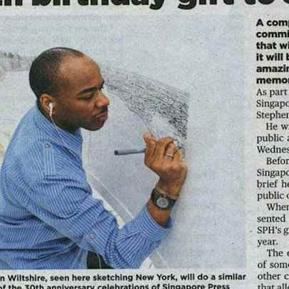 archive/full/The New Paper 14-07-14.jpg - Stephen Wiltshire media archive