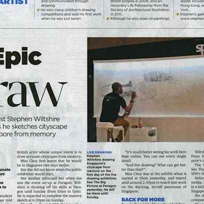 archive/full/The New Paper 17-07-14.jpg - Stephen Wiltshire media archive