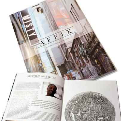 An illustrative perception of the city - Affix Magazine - Media archive