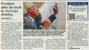 President adds his mark to cityscape drawing - Stephen Wiltshire archive - what others say