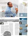 Genie code (Wissen) - Stephen Wiltshire press archive