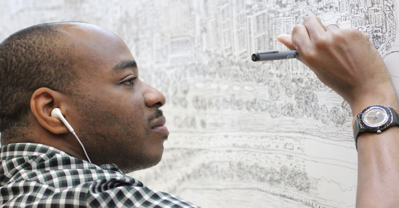 Vía: stephenwiltshire.co.uk