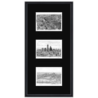 London collage with black mount (framed) - Gifts & Merchandise for sale