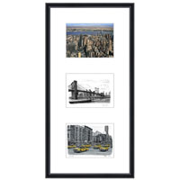New York collage with white mount (framed) - Gifts & Merchandise for sale