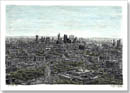 View of London from the top of BT Tower - Originals for sale