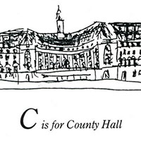 London Alphabet - C for County Hall - Gallery