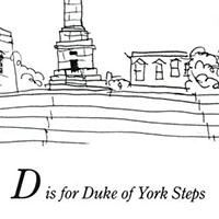 London Alphabet - D for Duke of York Steps - Gallery