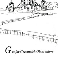 London Alphabet - G for Greenwich Observatory - Gallery