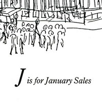 London Alphabet - J for January sales - Gallery