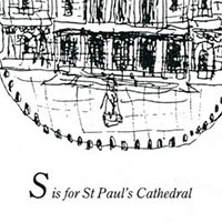 London Alphabet - S for St Pauls Cathedral - Original Drawings