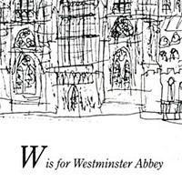 London Alphabet - W for Westminster Abbey - Drawings - Gallery