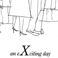 London Alphabet - X for eXciting day - Drawings - Gallery