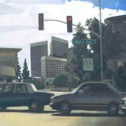 Los Angeles traffic, Oil on canvas - Paintings - Gallery