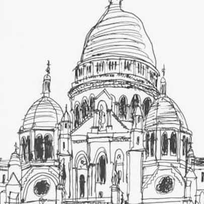 Sacre Coeur 1988 - Original Drawings