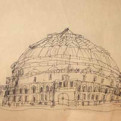 Royal Albert Hall 1983 - Drawings - Gallery