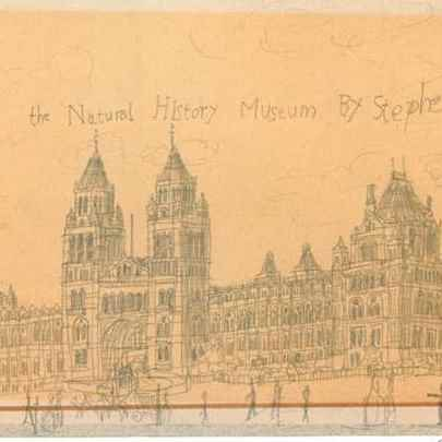 Natural History Museum, London 1983 - Drawings - Gallery