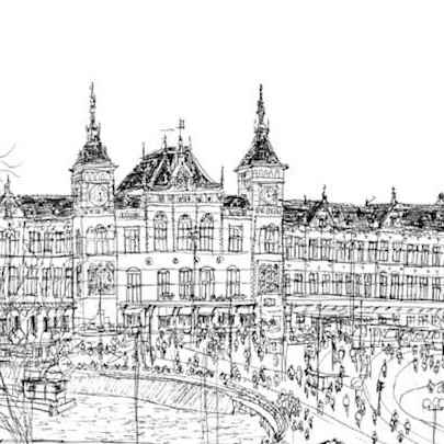 Central Station - Original Drawings