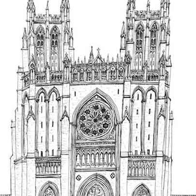 The Cathedral of SS Peter and Paul - Drawings - Gallery