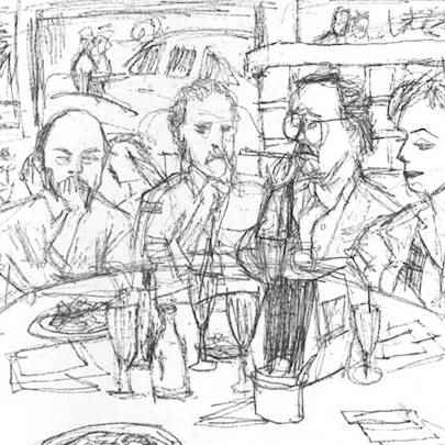 Cartoon of the ABC 20/20 Crew - Drawings - Gallery