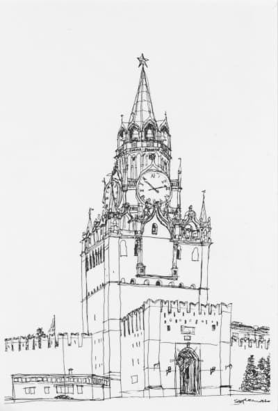 Рисунок эмпайр стейт билдинг