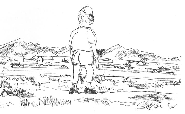 Oliver Sacks in Las Vegas - original drawings and prints for sale