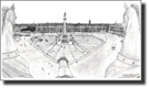 Palace Square, Leningrad 1990 - Originals for sale