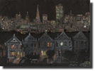 San Francisco by night - Originals for sale