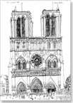 Notre Dame, Paris 1988 - Originals for sale
