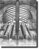Canary Wharf underground station 2002 - Originals for sale