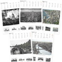 Stephen Wiltshire 2015 Calendar - Drawings - Originals, prints and limited editions