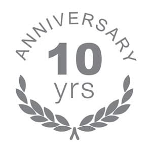Celebrating 10 years online