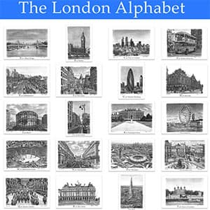 The New London Alphabet Poster is out now