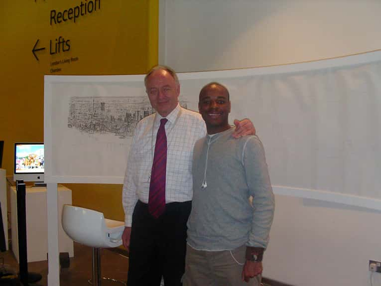Stephen and Ken Livingstone