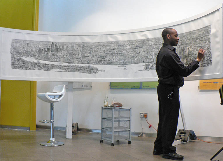 London Panorama print - originals and prints by Stephen Wiltshire MBE