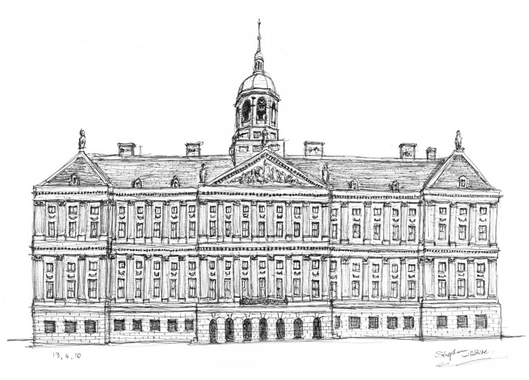 Queen`s Palace, Amsterdam