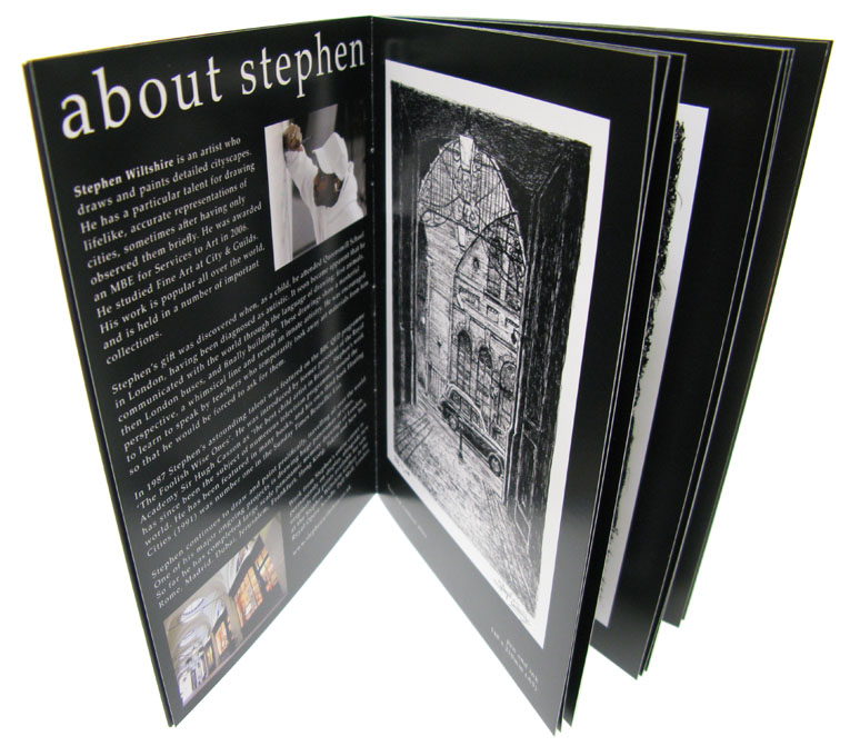 Stephen Wiltshire Catalogue - gifts and merchandise by Stephen Wiltshire MBE