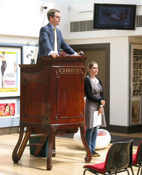Auction at Christies