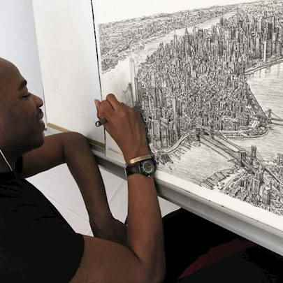 image_library/full/Manhattan_skyline_drawing_by_Stephen_full.jpg - Stephen Wiltshire media archive