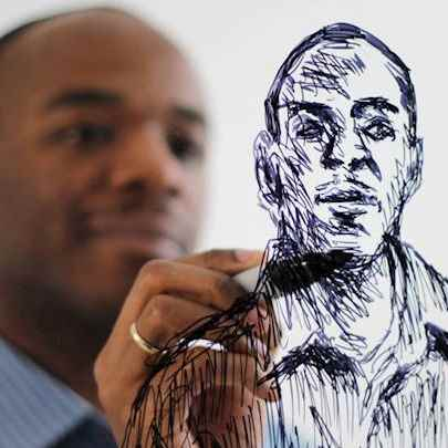 image_library/full/Self_portrait_on_glass.jpg - Stephen Wiltshire media archive