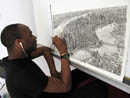 Drawing Manhattan in my studio - Stephen Wiltshire Image Library - Photo Album