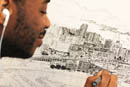 Drawing Monaco - Stephen Wiltshire Image Library - Photo Album