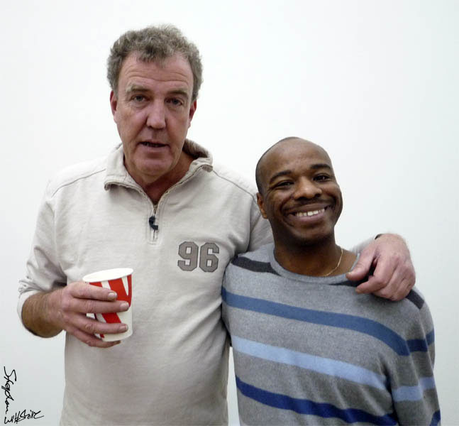 Stephen with Jeremy Clarkson