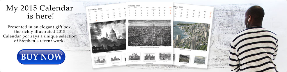 The Stephen Wiltshire 2015 Calendar