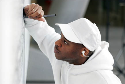 Stephen Wiltshire drawing Madrid