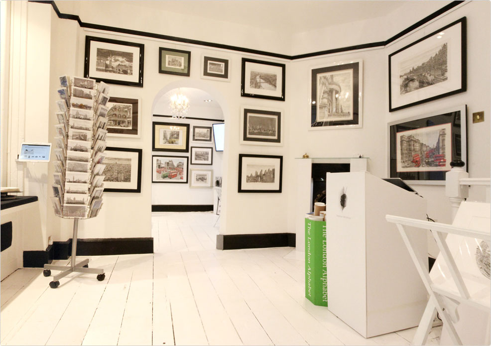 Interior of The Stephen Wiltshire Gallery