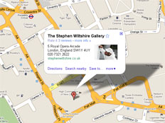 The Stephen Wiltshire Gallery, 5 Royal Opera Arcade, London, SW1Y 4UY, United Kingdom