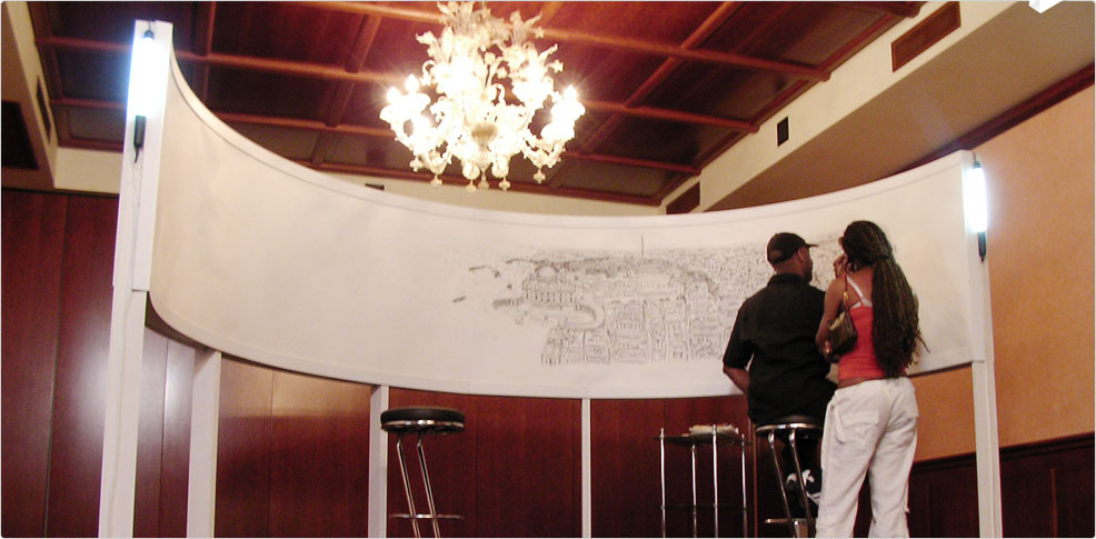 Stephen Wiltshire drawing Rome