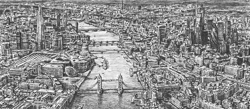 Stephen Wiltshire Original Drawings